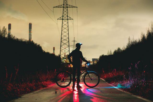 Poprawne oświetlenie roweru zapewni nam bezpieczeństwo