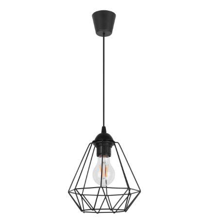 Wisząca lampa pojedyncza w stylu loft